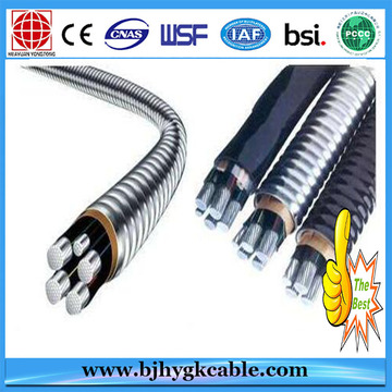 0.6/1KV 4x35mm2 Aluminum Alloy Conductor XLPE power cable