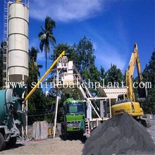 40 Wet Mobile Concrete Batching Plant