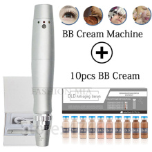 7 Color Led Light BB Cream Glow machine with Starter Kit for Brightening Whitening Face Care BB Makeup Liquid Acne Anti-Aging