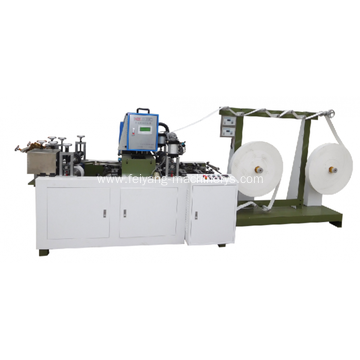 hot glue twisted paper handle machine