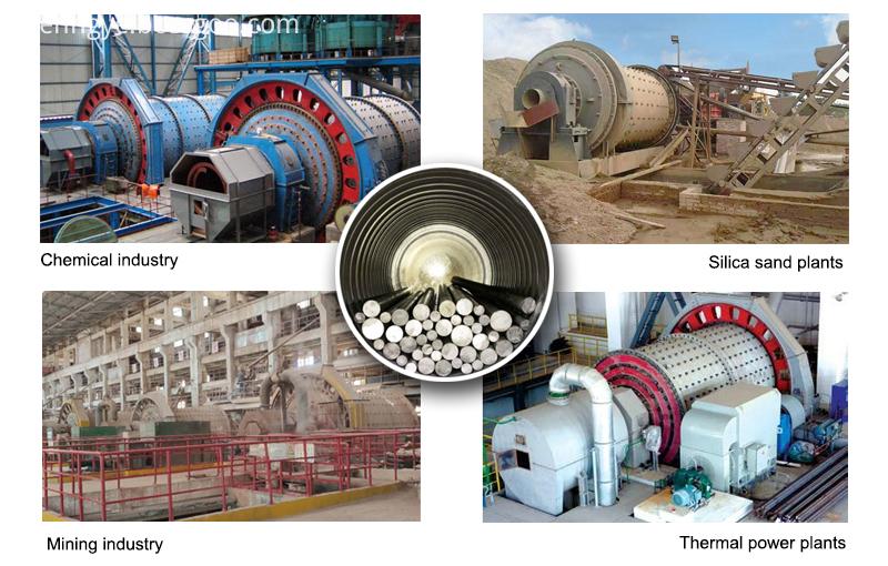use grinding steel rod