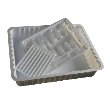 Hospital supply sterile medical tray  forming