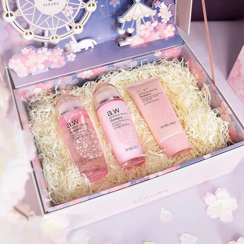 Luxury Pink Display Paper Box