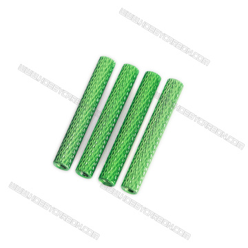 M3 Knurled standoff Aluminum alloy multi color spacer