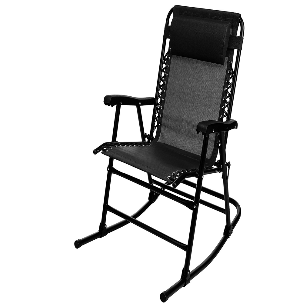 Rocking Chair With Canopy