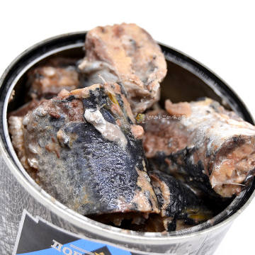 Canned Saury Fish In Nature Oil