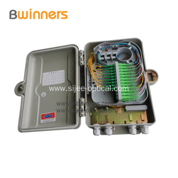24 port FTTH Fiber Termination PLC Splitter Box