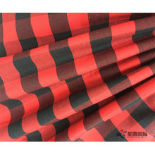 Red And Black Plaid Cotton Cloth