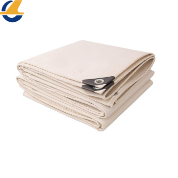 Privacy Cotton Canvas Tarpaulin Floor Cover