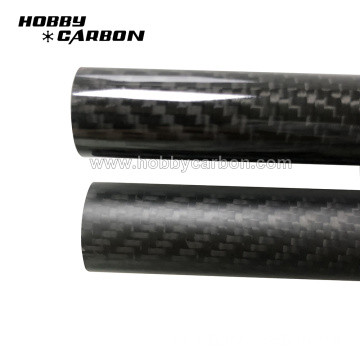 CNC Cutting 100% 3K Carbon Fiber Tube