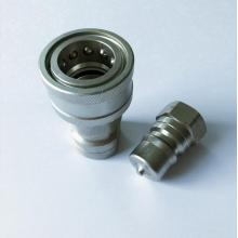 ISO7241-1B 12 size 3/4''-16UNFcarton steel quick coupling