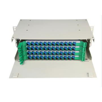 4u ODF Rack Mount Fiber Optic Terminal Box
