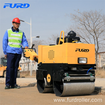 Nice Design 800kg Small Hydraulic Double Drum Vibration Roller