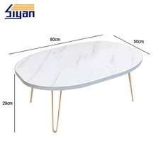 Circular mdf table top for dining