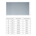 50/60/63/72/84/100/112/120/130 inch 16:9 Foldable Anti-light Projector Screen HD 1080P 3D Home Cinema Theater Projection Screen