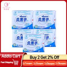 5Packs Love Moon Menstrual Period Anion Pads Sanitary Napkin Winalite Anion Love Moon Hygienic Pad Feminine Hygiene Sanitary