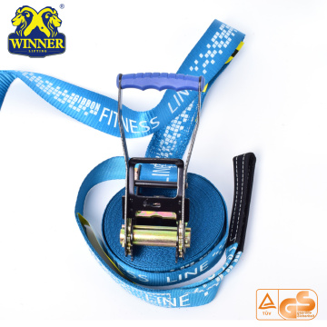 Customized Polyester Slackline Set Slack Line