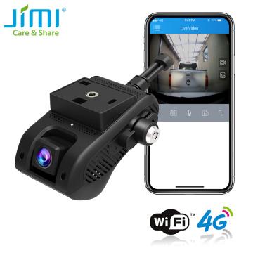 JIMI JC400P 4G Hidden Video Camera 1080P Dual Live Stream Dashcam GPS Track Remote Monitor DVR Cam Recorder By APP PC Embedded
