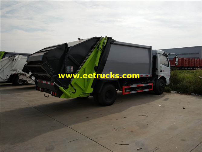 Refuse Compactor Vehicle