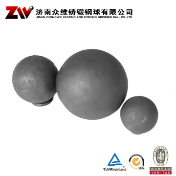 Hot rolling Forged grinding balls for mining 30mm