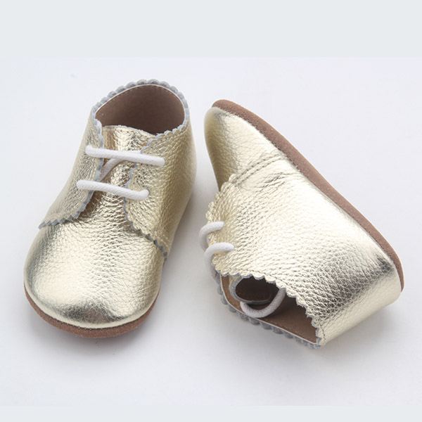 Lace Leather Baby Shoe
