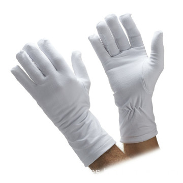Cómodo antideslizante White Parade Ceremonial Cotton Gloves