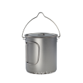 TITANIUM 1300ML POT WITH BAIL HANDLE