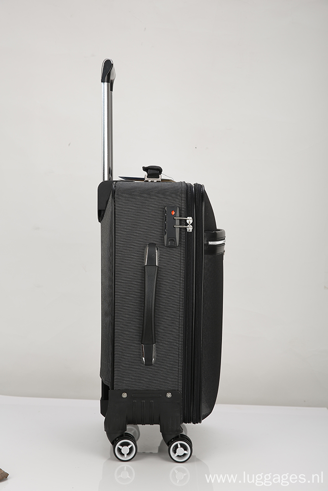Durable Softside traveling luggage