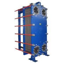 Heat exchanger for cooling water industrial