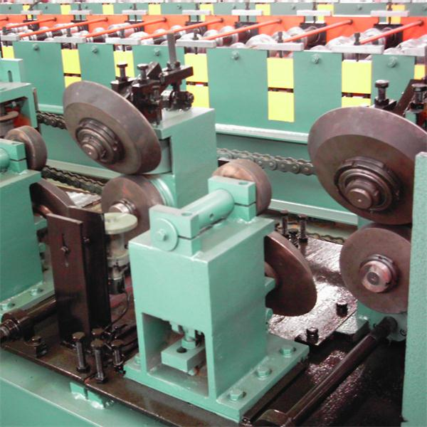 Bulding frame Z purline roll forming machine