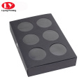 Food grade black craft macaron box