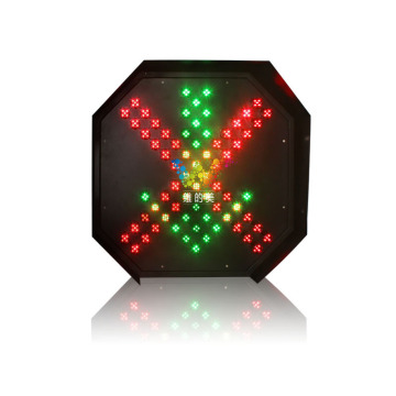 Red Green 600mm toll station LED traffic light