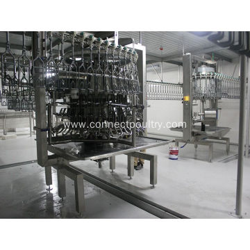 chicken slaughtering machine poultry eviscerator