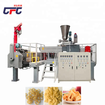 extruded potato chips processing production line