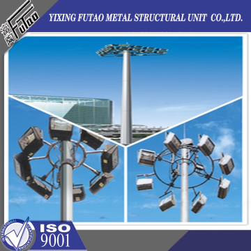 OEM Galvanized Steel High Mast Lighting