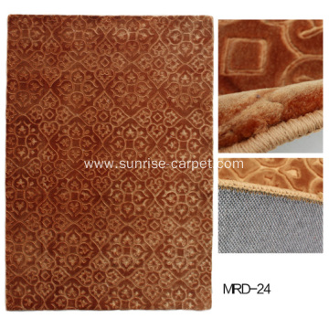 Wall to Wall Embossing Mink Carpet
