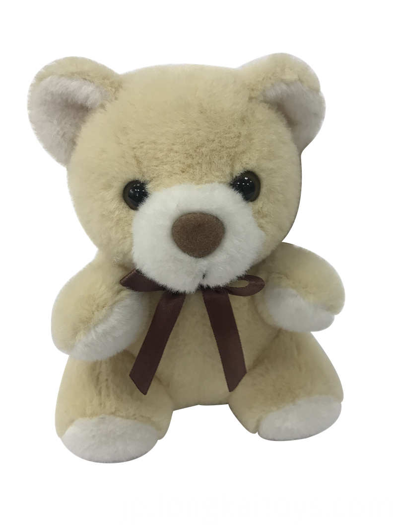 Beige Bear Plush Toy