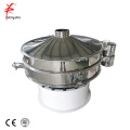 Single deck low amplitude flour ultrasound vibrating sieve sifter