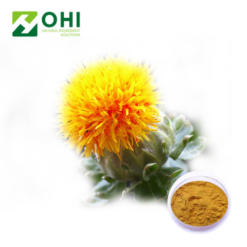 Safflower extract carthamin yellow