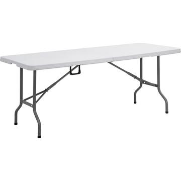 6&8-Foot Rectangular Plastic Folding Table
