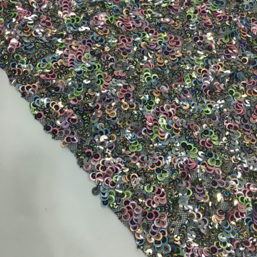 2019 Winter Stage Sequins Embroidery Fabric