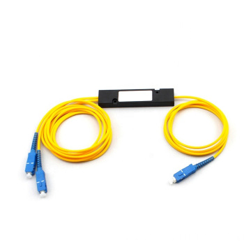 1x2 PLC ABS Box Fiber Splitter