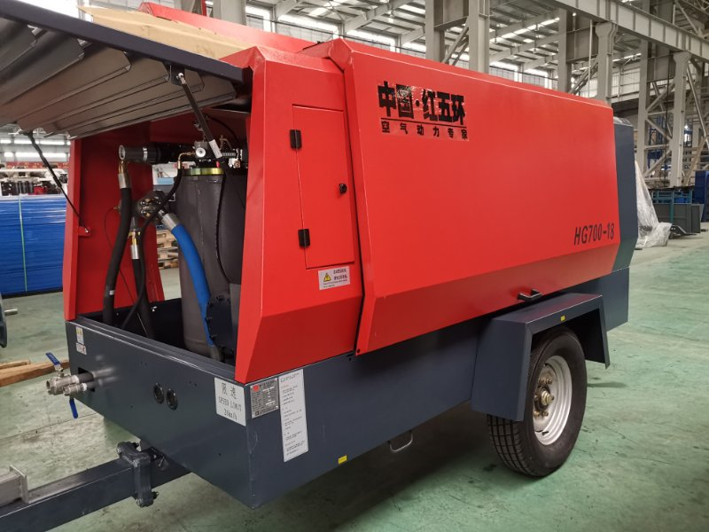 new hg700-18 diesel air compressor-1