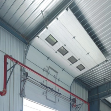 Industrial Sliding Lifting up Garage Door