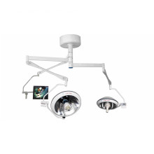 Halogen operation lamp with HD camera system