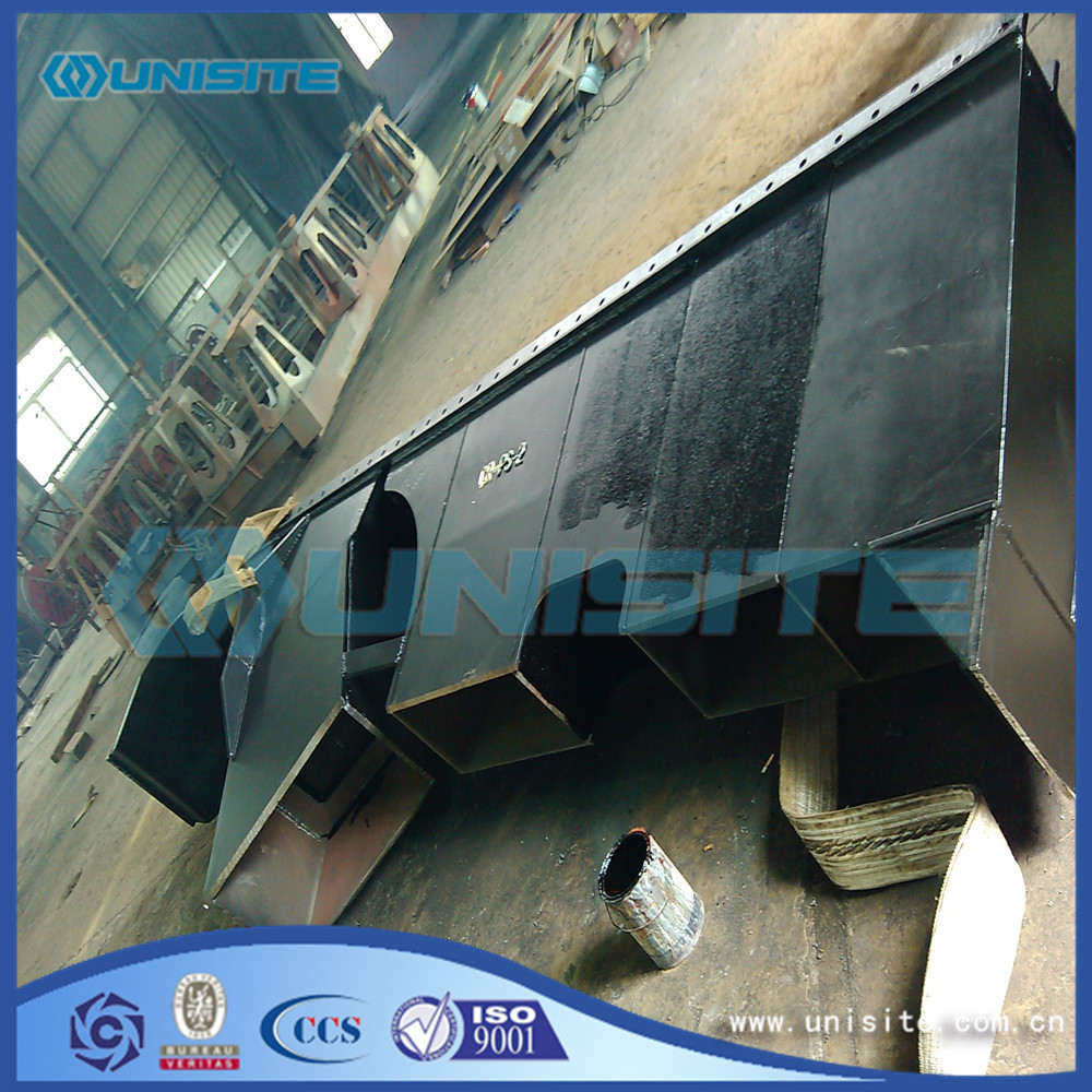 Steel pump suction dredging pipes
