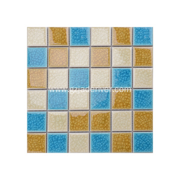 Mixed Color Cheap Price  Mosaic Floor Tile