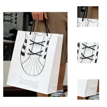 Custom New Design Printing Paper Bag For Shopping