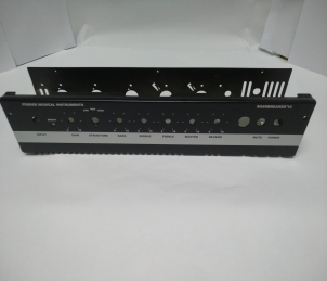 AMPLIFIERS metal chassis