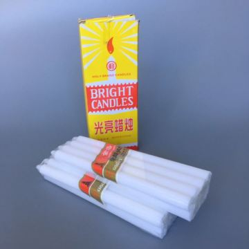Long Burning Stick Utility White Candle